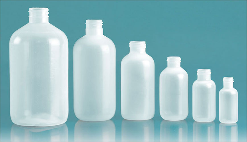 Laboratory Plastic Bottles, Natural LDPE Boston Rounds (Bulk), Caps NOT Included