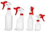 Natural HDPE Trigger Spray Bottles