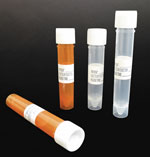 PP Urinalysis Specimen Collection Tubes w/ Leakproof Screw Caps