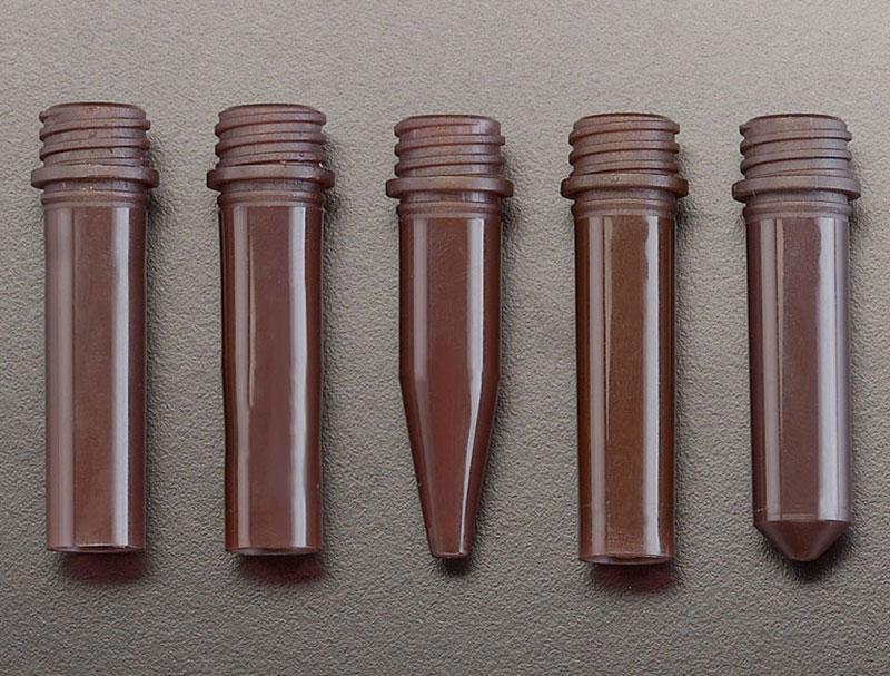 Amber PP Microcentrifuge Tubes