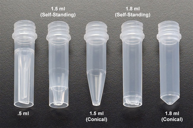 Sks science products centrifuge tubes natural