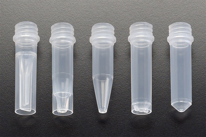 Natural PP Microcentrifuge Tubes