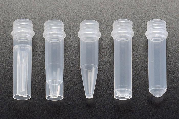 Natural PP Microcentrifuge Tubes