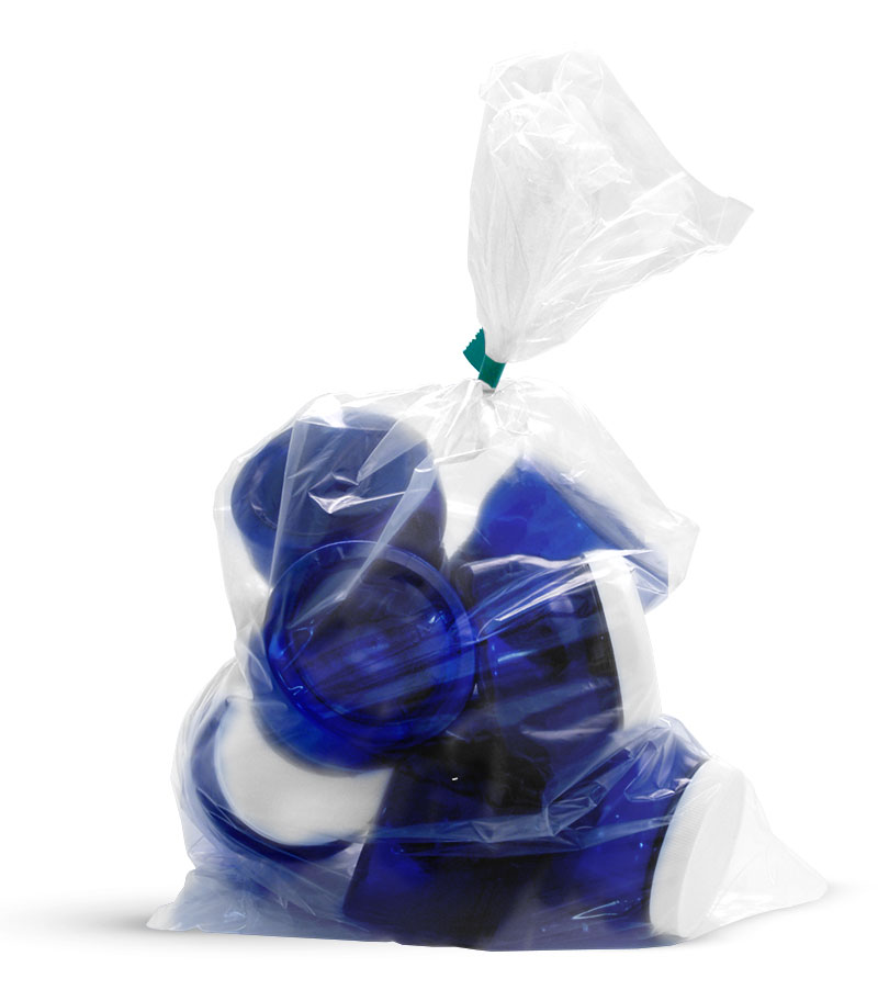 Plastic Bags, Clear Polyethylene Bags