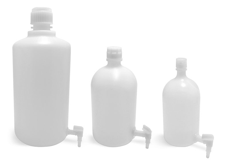 Carboys, Plastic Carboys, Spigot