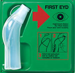 Wash Bottles, First EYD Emergency Eye Wash Bottle Stations