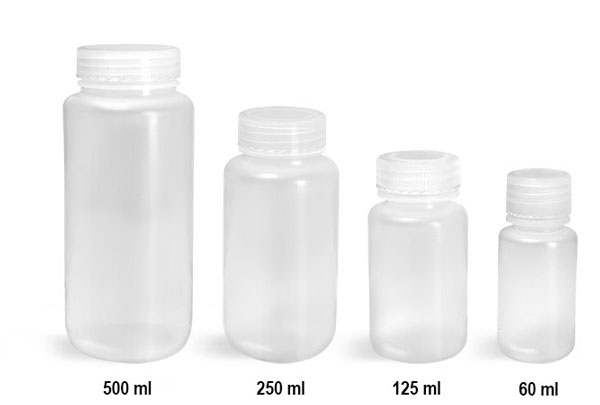 Sks Science Products Lab Bottles Leak Proof Natural