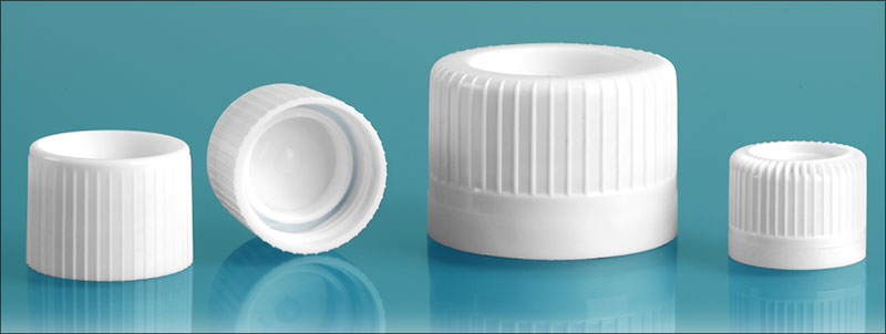 White Screw Caps for Self-Standing Transport Tubes