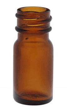 Amber Glass Diagnostic Bottles (Caps Not Included)