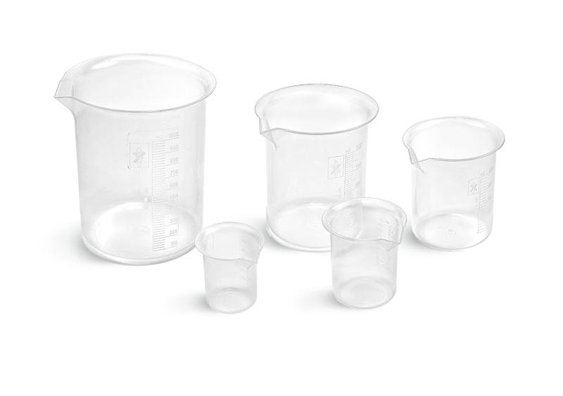 Griffin Style PMP Plastic Beakers, Starter Kit