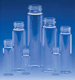 Clear Glass E-C Sample Vials, 11 ml - 60 ml (Caps Not Included)