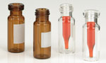 Glass Vials,  LVI Vials Glass High Recovery Vials