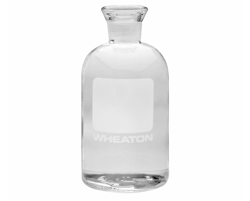 300 ml Clear Glass BOD Bottles w/ Writing Area