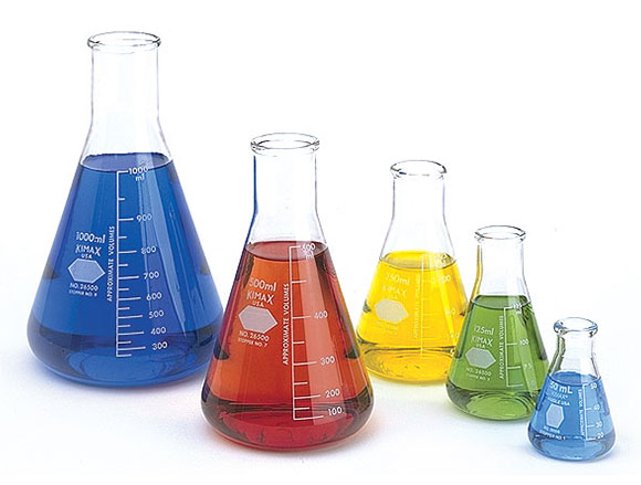 Laboratory Glassware, Glass Flasks