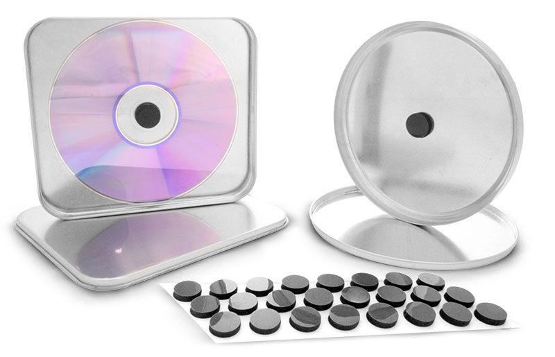 Adhesive Foam Dots For CD Tins