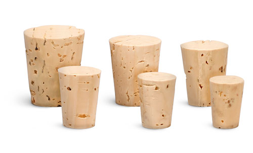 Size 0  Lab Stoppers, Cork Stoppers