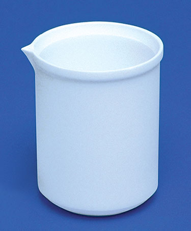 Tapered PTFE  Plastic Beakers