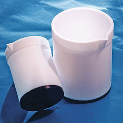 Heatable Tapered PTFE Plastic Beakers