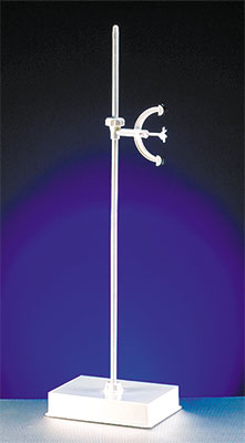 Burette Stand, White Edge Weighted