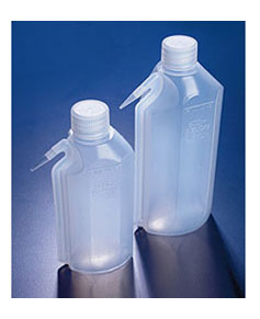 Wash Bottles, LDPE Oval Integral Plastic Wash Bottles