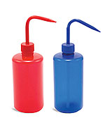 Color Coded LDPE Plastic Wash Bottles