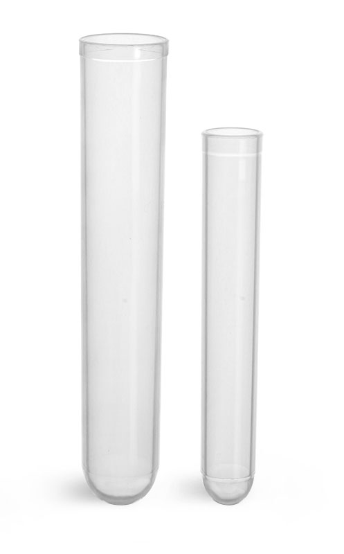 Test Tubes, Plastic Test Tubes, Disposable Polypropylene Culture Tubes
