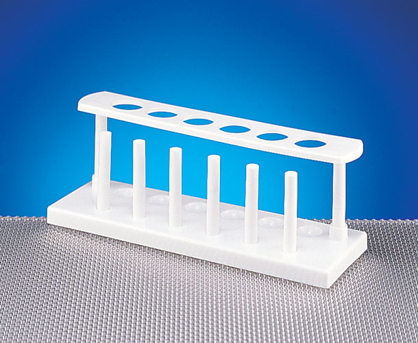 Test Tube Holders, White HDPE Test Tube Racks
