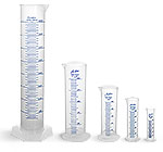 Graduated Cylinders, Polypropylene Short Form Graduated Cylinders