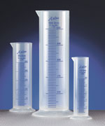 Polypropylene Plastic Short Form Graduated Cylinders