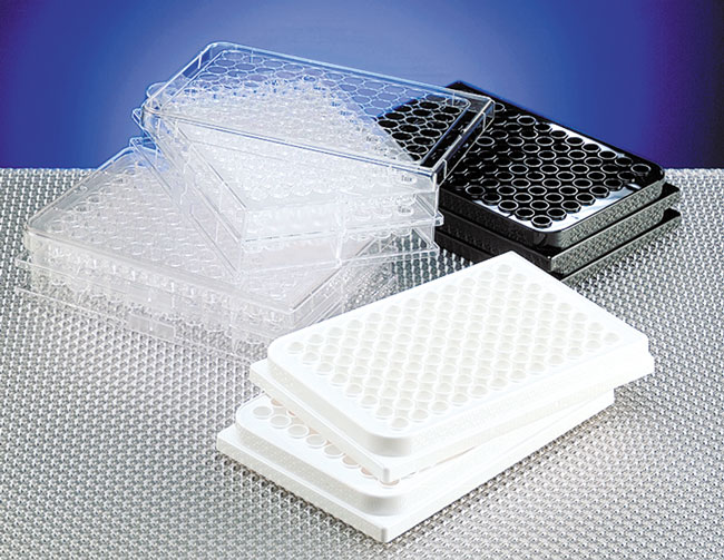 Cell Culture Plates, Single Use 96 Well Microtitration Plates