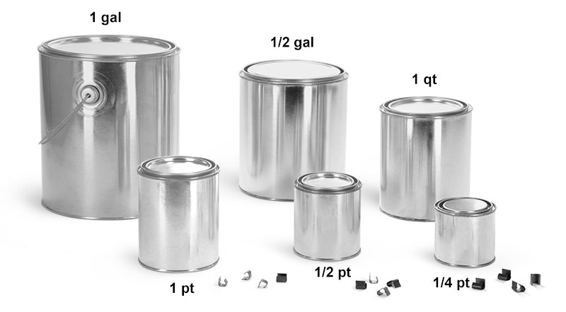 Sks Science Products Paint Cans Paint Cans With Plugs