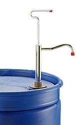 Plastic Cap Drum Pumps, 8 oz Metal Stroke