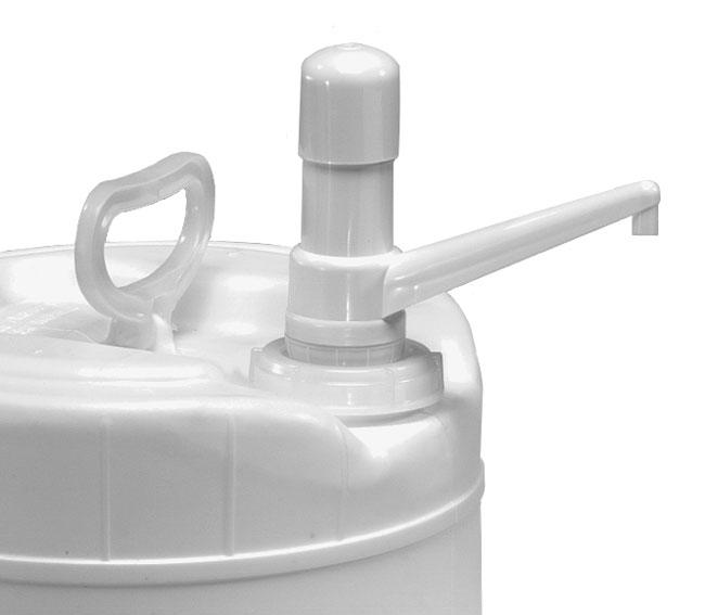 Drum Pumps, White Plastic Drum Pump