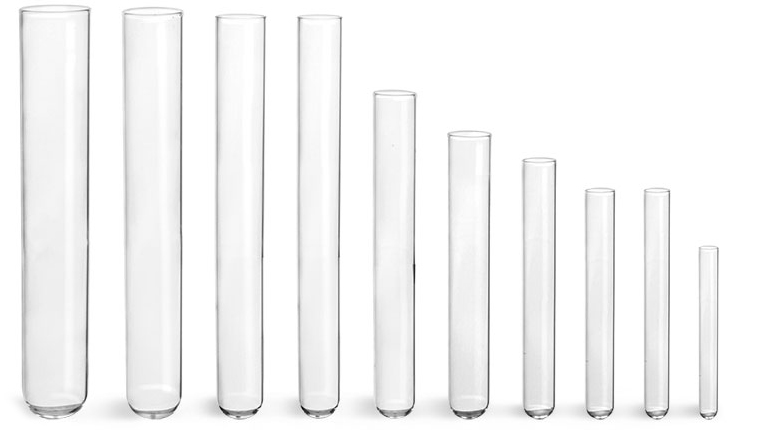 Test Tubes, Glass Test Tubes, Disposable Glass Culture Tubes