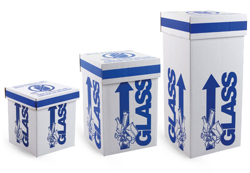 Glass Safety Disposal Boxes