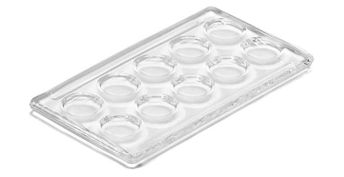 Glass Microscope Slides, Glass Boerner Micro Chambered Test Slides