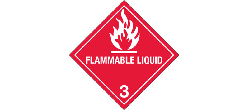 Hazardous Labels, Hazard Class 3