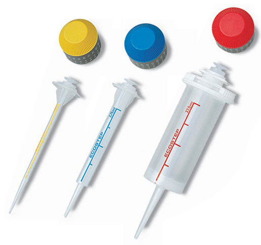 Disposable Syringes, Ecostep Disposable PP Syringes for Step-Pette Repeater Pipette