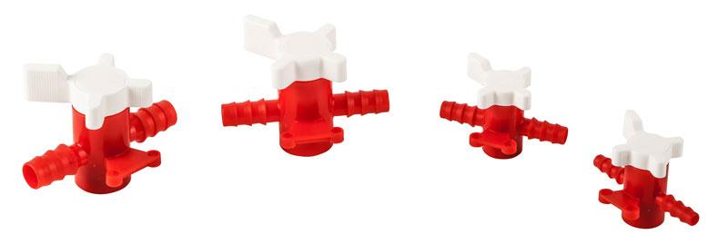 Laboratory Tubing, Two-Way PP/PE Stopcock Tubing