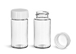Wheaton Vials, Clear PET Scintillation Vials w/ PE Lined Polypro Caps