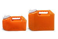 Lab Bottles, 24 Hour Urine Collection, HDPE Orange Bottle, Spout Cap