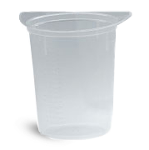 Tricorn Disposable Plastic Beakers