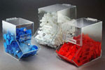 Clear Acrylic Dispensing Bins