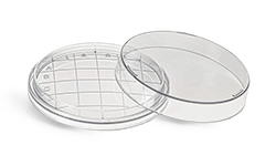 Clear Polystyrene Sterile Contact Plates