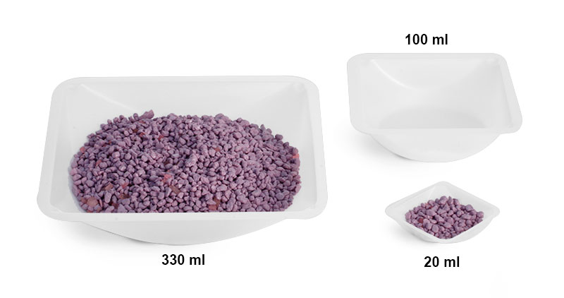 Weighing Dishes,Polystyrene Anti-static Square
