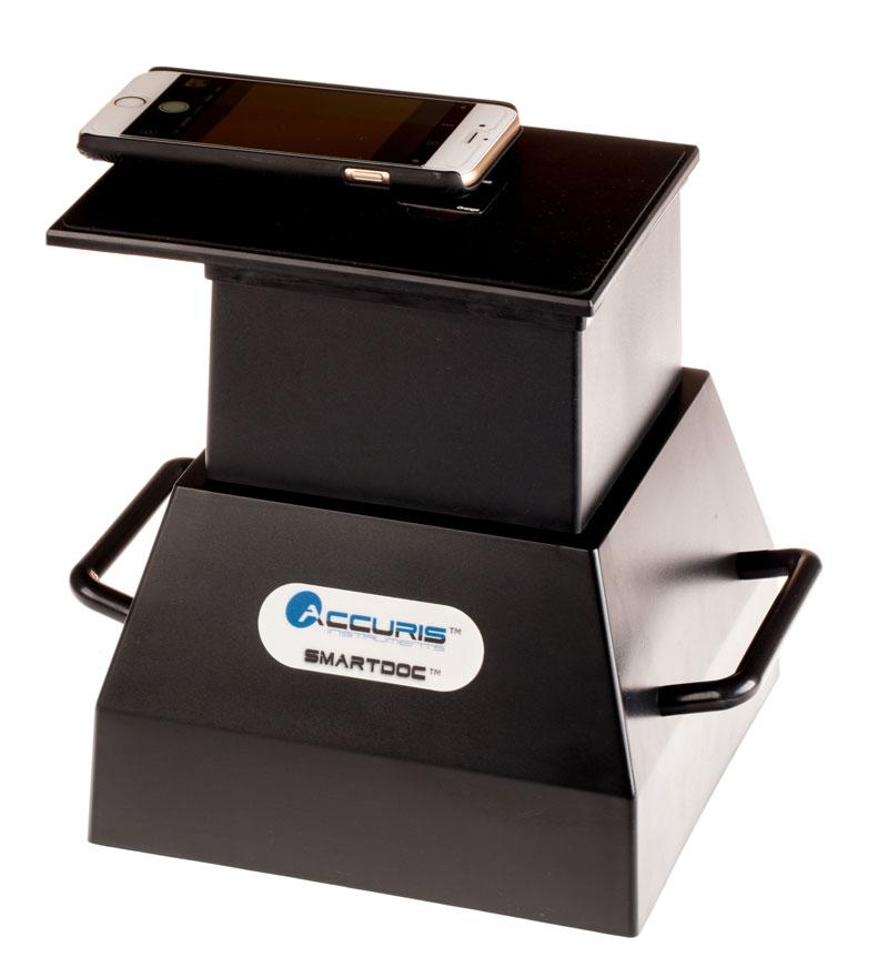 Lab Equipment, SmartDoc™ 2.0 Gel Visualization and Smart Phone Imaging System