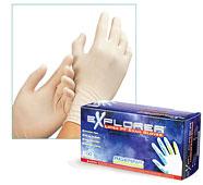 explorer latex exam gloves