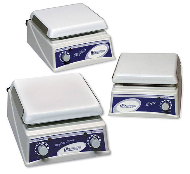 Lab Equipment, Magnetic Stirrers, Biomega Hotplates