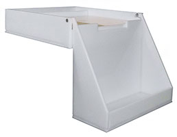 HDPE Plastic Carboy Spill Trays