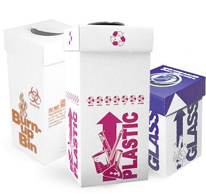 Disposable Bins